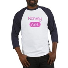 Norway girl Baseball Jersey