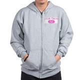South Dakota girl Zip Hoodie