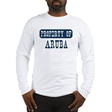 Property of Aruba Long Sleeve T-Shirt