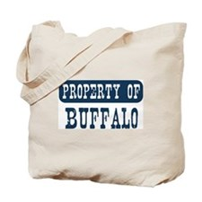 Property of Buffalo Tote Bag