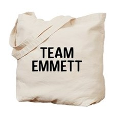 Team Emmett (Black) Tote Bag