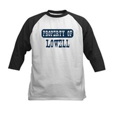 Property of Lowell Kids Baseball Jersey