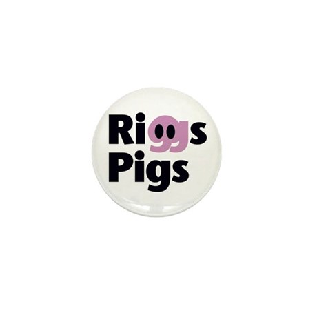 RIGGS PIGS - Mini Button (10 pack)