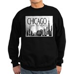 Chicago My Town Sweatshirt (dark)
