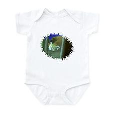 red panda 3 Infant Bodysuit