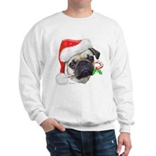 Pug Christmas Sweatshirt