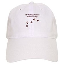Walking Partner Has Four Legs Baseball Cap