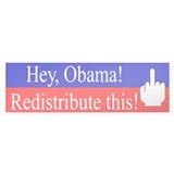 Redistribute this! Bumper Sticker (50 pk)