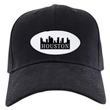 Houston Skyline Baseball Hat