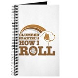 clumber spaniel's how I roll Journal