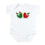 Lovebirds Merry Kissmas Infant Bodysuit