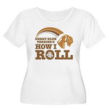 kerry blue terrier's how I roll T-Shirt