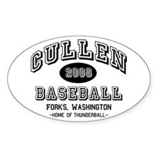 Cullen Baseball 2008 Oval Decal