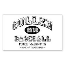 Cullen Baseball 2008 Rectangle Decal