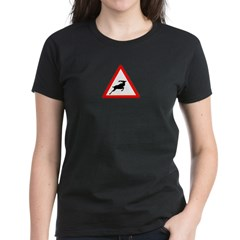 Beware of the buck Women's Dark T-Shirt