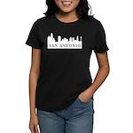 San Antonio Skyline Women's Dark T-Shirt
