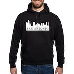 San Antonio Skyline Hoodie (dark)
