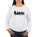 San Antonio Skyline Women's Long Sleeve T-Shirt