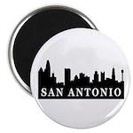 San Antonio Skyline Magnet