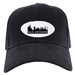 San Antonio Skyline Black Cap