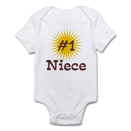 #1 Niece Infant Bodysuit