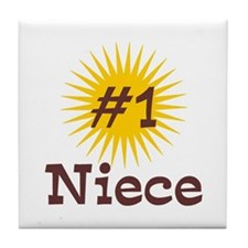 #1 Niece Tile Coaster
