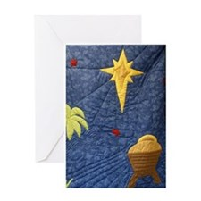 Cool Quilt Greeting Card