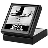 "B-24 ""Bombs away!"" Keepsake Box"