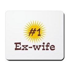 #1 Ex-Wife Mousepad