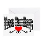 I Love Handbags Greeting Cards (Pk of 20)