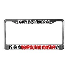 Neapolitan Mastiff License Plate Frame