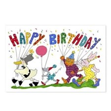 Cute Birthday mouse Postcards (Package of 8)