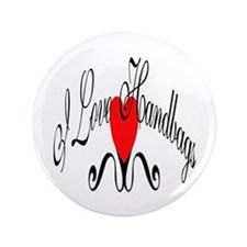 "I Love Handbags 3.5"" Button (100 pack)"