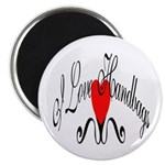 "I Love Handbags 2.25"" Magnet (100 pack)"