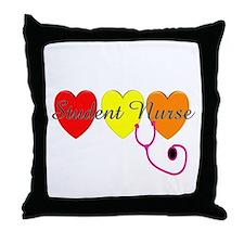 Student Nurse Throw Pillow