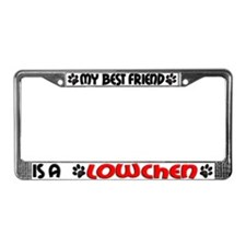 Lowchen License Plate Frame