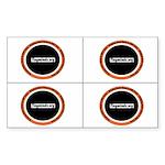 TM Circle 4-up Rectangle Sticker