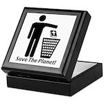 Save The Planet Keepsake Box