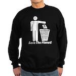 Save The Planet Sweatshirt (dark)