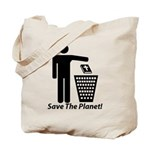 Save The Planet Tote Bag