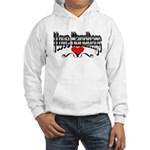 I Love Handbags Hooded Sweatshirt
