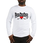 I Love Handbags Long Sleeve T-Shirt