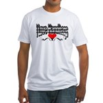 I Love Handbags Fitted T-Shirt