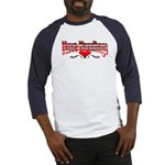 I Love Handbags Baseball Jersey