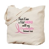 Never Knew A Hero 3 Granddaughter BC Tote Bag
