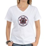 Wyoming Brand Inspector Women's V-Neck T-Shirt