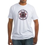 Wyoming Brand Inspector Fitted T-Shirt