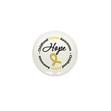 HopeChildhoodCancer Mini Button (10 pack)