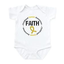 ChildhoodCancerFaith Infant Bodysuit