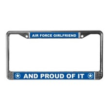 Air Force Girlfriend License Plate Frame